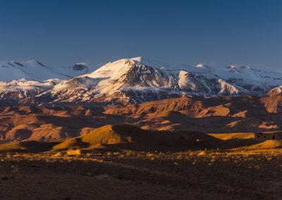 | Maroko | Zachód słońca w górach Atlas |