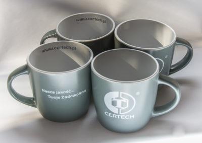 Kubki ceramiczne z nadrukiem