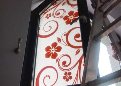 Projekt i oklejenie okien