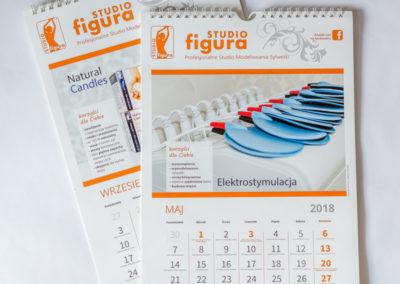 Projekt i druk kalendarzy