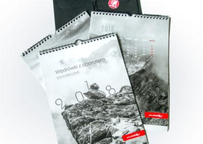 Projekt i druk kalendarza planszowego