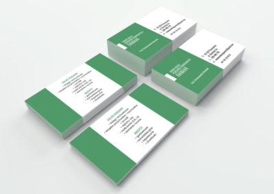 Projekt i druk wizytówek dla Biura Usług Księgowych